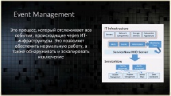 ServiceNow ITOM - модуль Event Management (видео)