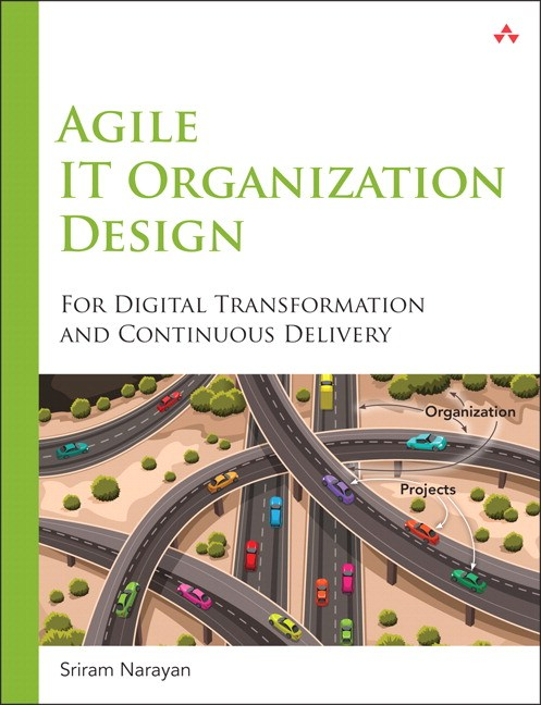 Agile IT Organisation design от Sriram Narayan