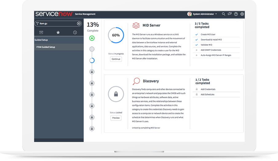 ServiceNow Discovery